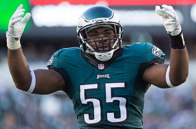 4a738a2d1e1 Sep 25, 2016; Philadelphia, PA, USA; Philadelphia Eagles defensive end  Brandon