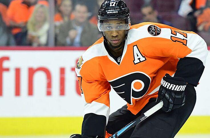 sale retailer d6f0c 99fc1 Philadelphia Flyers: Wayne Simmonds Named to 2017 N.H.L. All ...