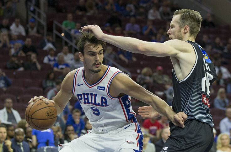official photos 84865 4f72f Philadelphia 76ers: Dario Saric could flourish in Phoenix
