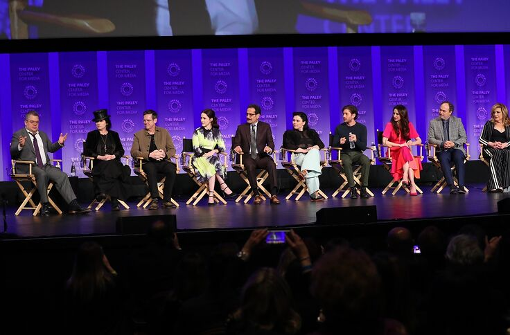 The Marvelous Mrs  Maisel cast and creators talk season 3 at