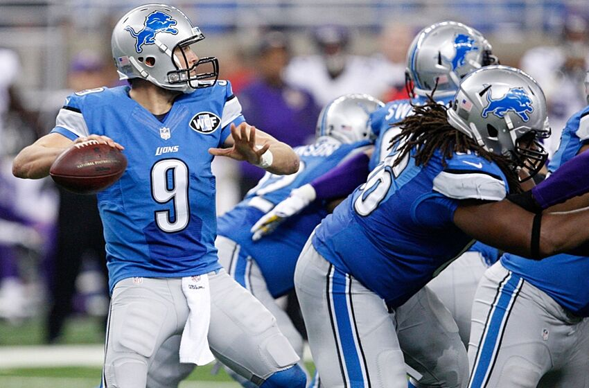 Detroit Lions quarterback Matthew Stafford (9) will have to play better  with 2 of 41dfd6e69