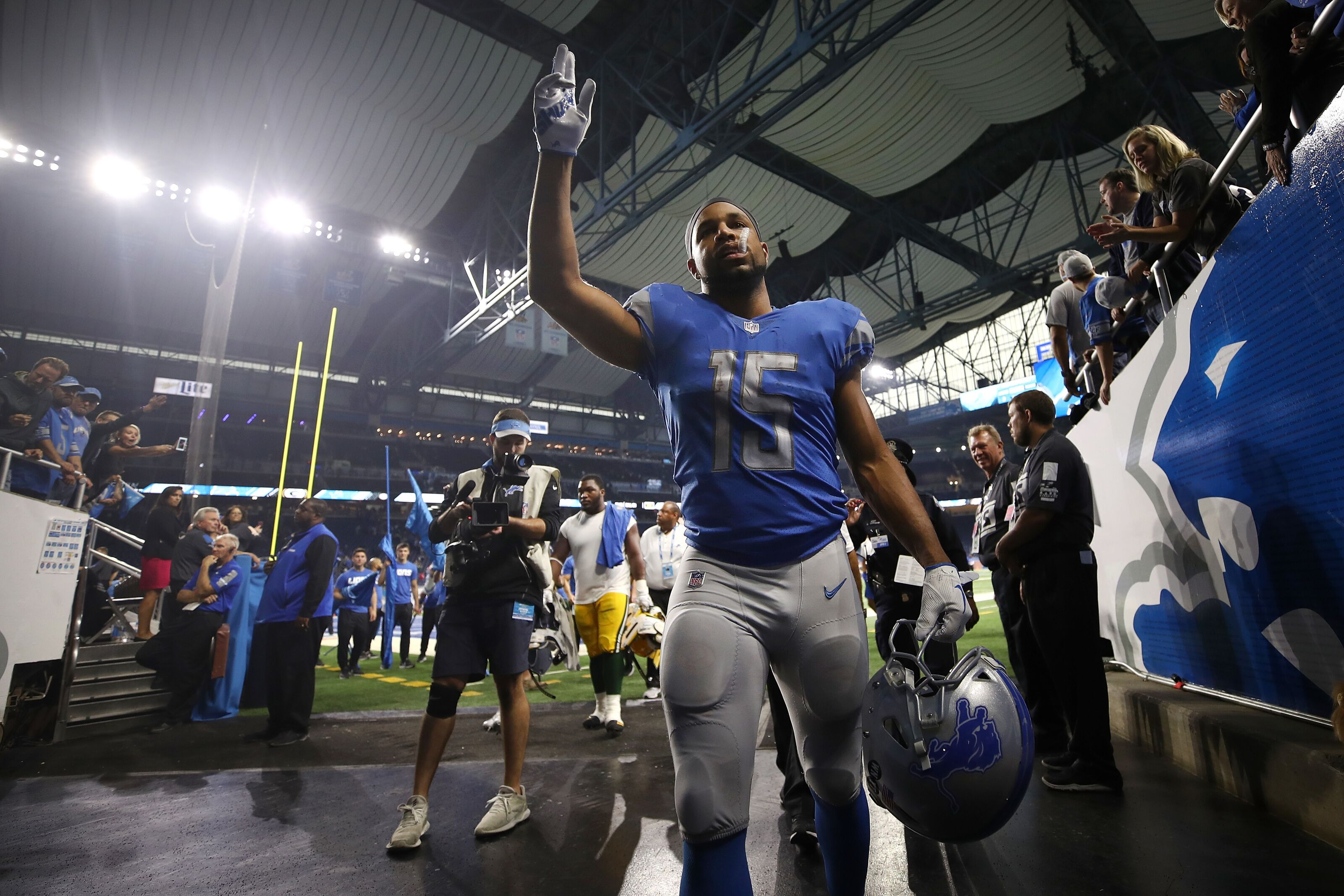 Detroit Lions: Don't expect a reunion with Golden Tate