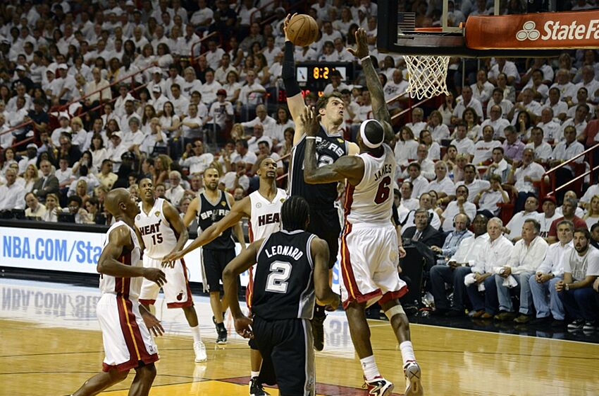 Nba Finals Flashback Miami Heat Use Huge 2nd Half Run