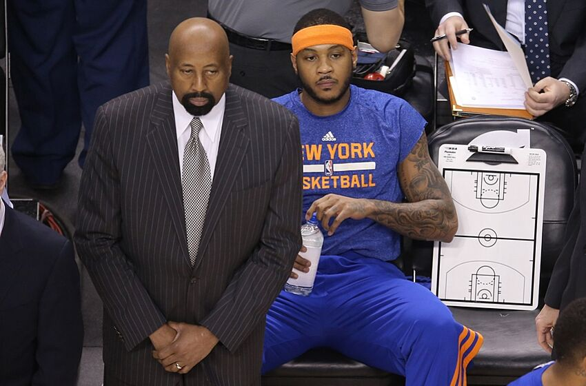 97c698868dd6 New York Knicks  Melo Was Angry Last Season + Supports LeBron s Return