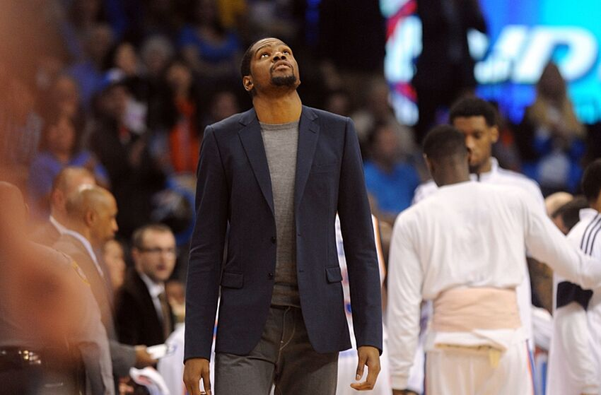7c4dffd3610 NBA Rumors  Kevin Durant Dealt Another Setback  Time To Shut Him Down