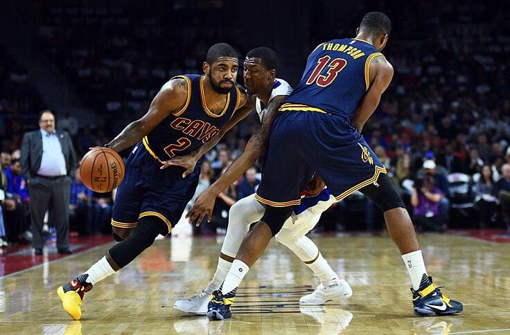 vente chaude en ligne e3772 8348a Cleveland Cavaliers: Kyrie Irving Is Made For Playoff Basketball