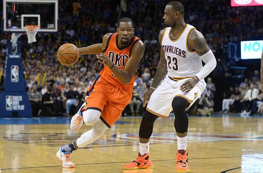 ad56fa839 Cleveland Cavaliers  LeBron James Approves Of Kevin Durant s Decision