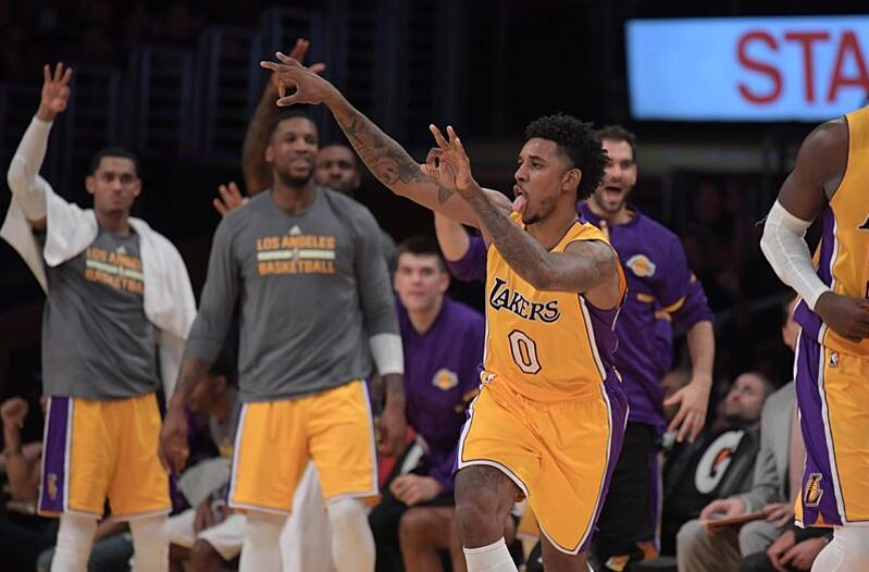 7bfa9bf050ac Los Angeles Lakers  Understanding How Good Of A Shooter Nick Young Is