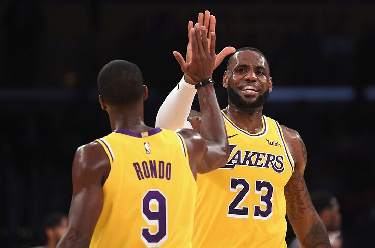 save off 655ff da812 Los Angeles Lakers: Why LeBron James is still the best player ...