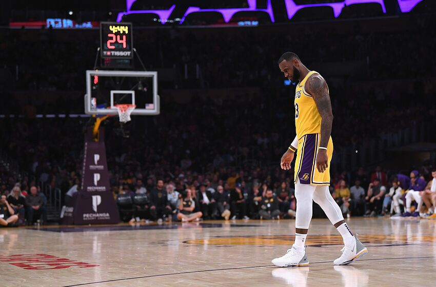 1f8fe0989c2 NBA Los Angeles Lakers LeBron James (Photo by Harry How Getty Images)