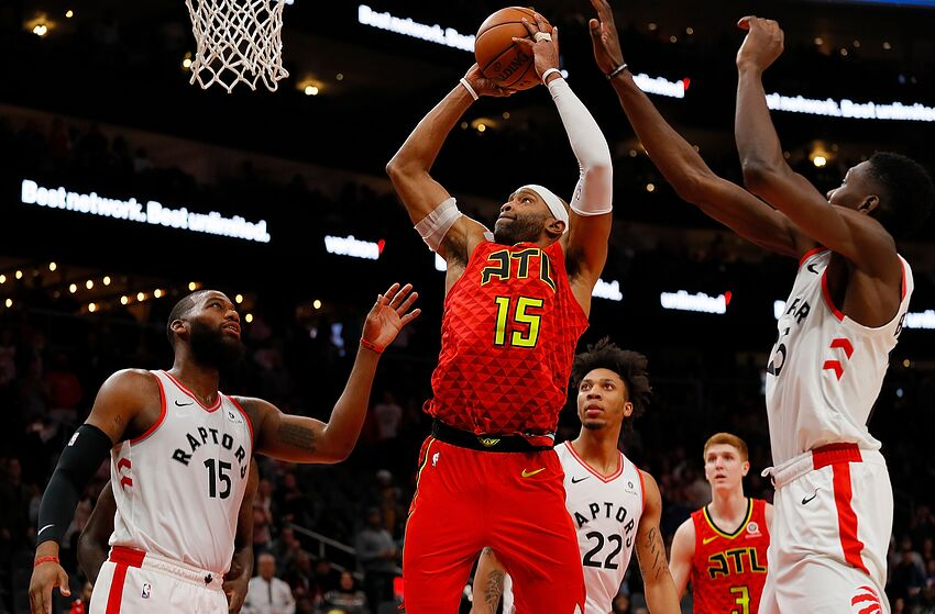 c0143db8b NBA Atlanta Hawks Vince Carter (Photo by Kevin C. Cox Getty Images)