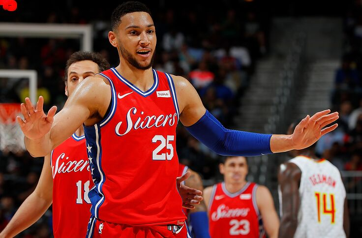 new style 9b254 3be6b NBA Trade Rumors: Wolves demanded Ben Simmons in Sixers ...