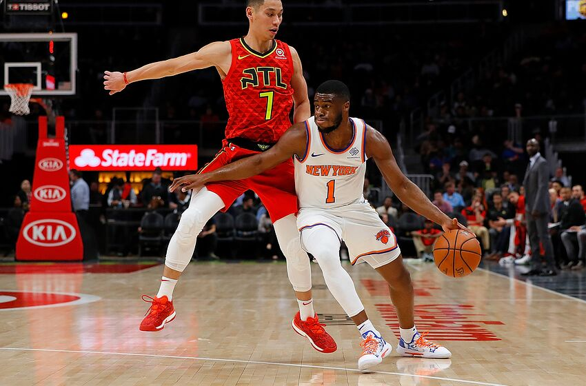30006a823cc New York Knicks Emmanuel Mudiay (Photo by Kevin C. Cox Getty Images)