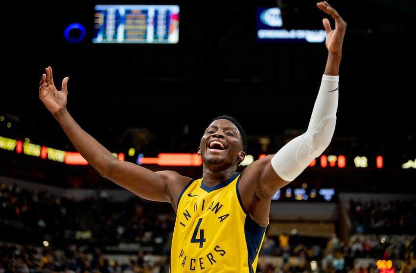 NBA Indiana Pacers Victor Oladipo (Photo by Brian Munoz/Getty Images)
