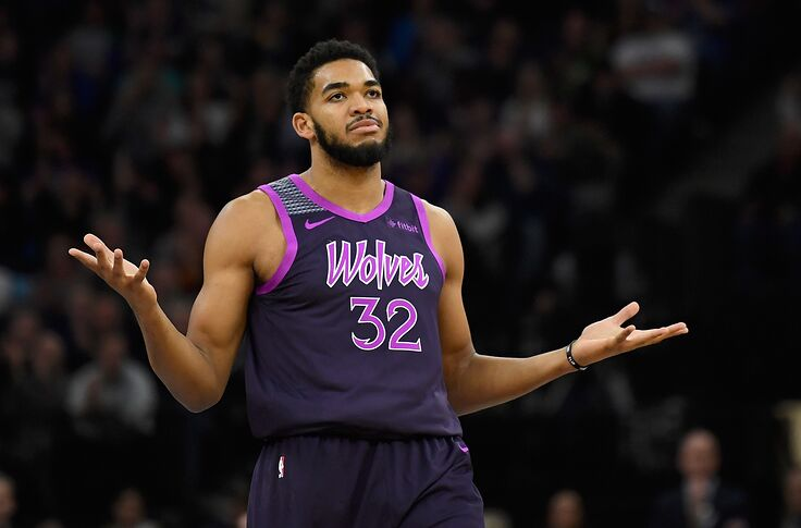 sports shoes 20e1c b5b28 Minnesota Timberwolves: The clock on Karl-Anthony Towns is ...