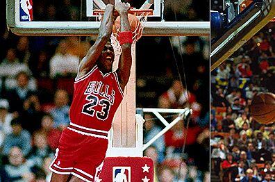 Memorable Hawk Moments Dominique Wilkins Vs Michael Jordan Via Dunk Contest 1988