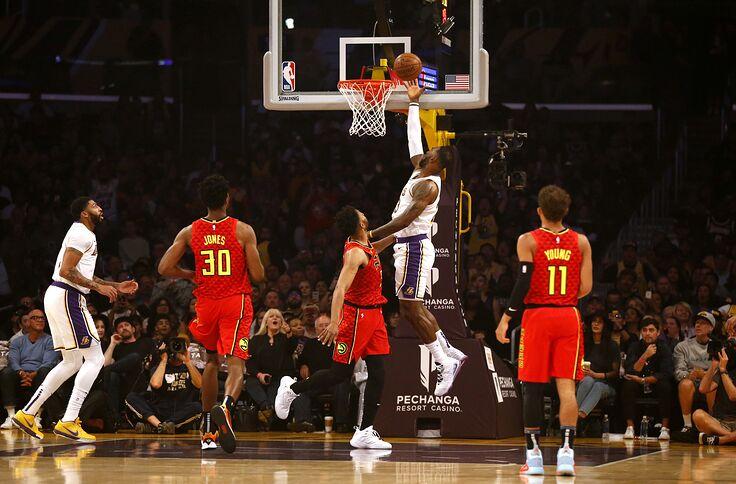 Atlanta Hawks Game Recap Lakers Win 122 101
