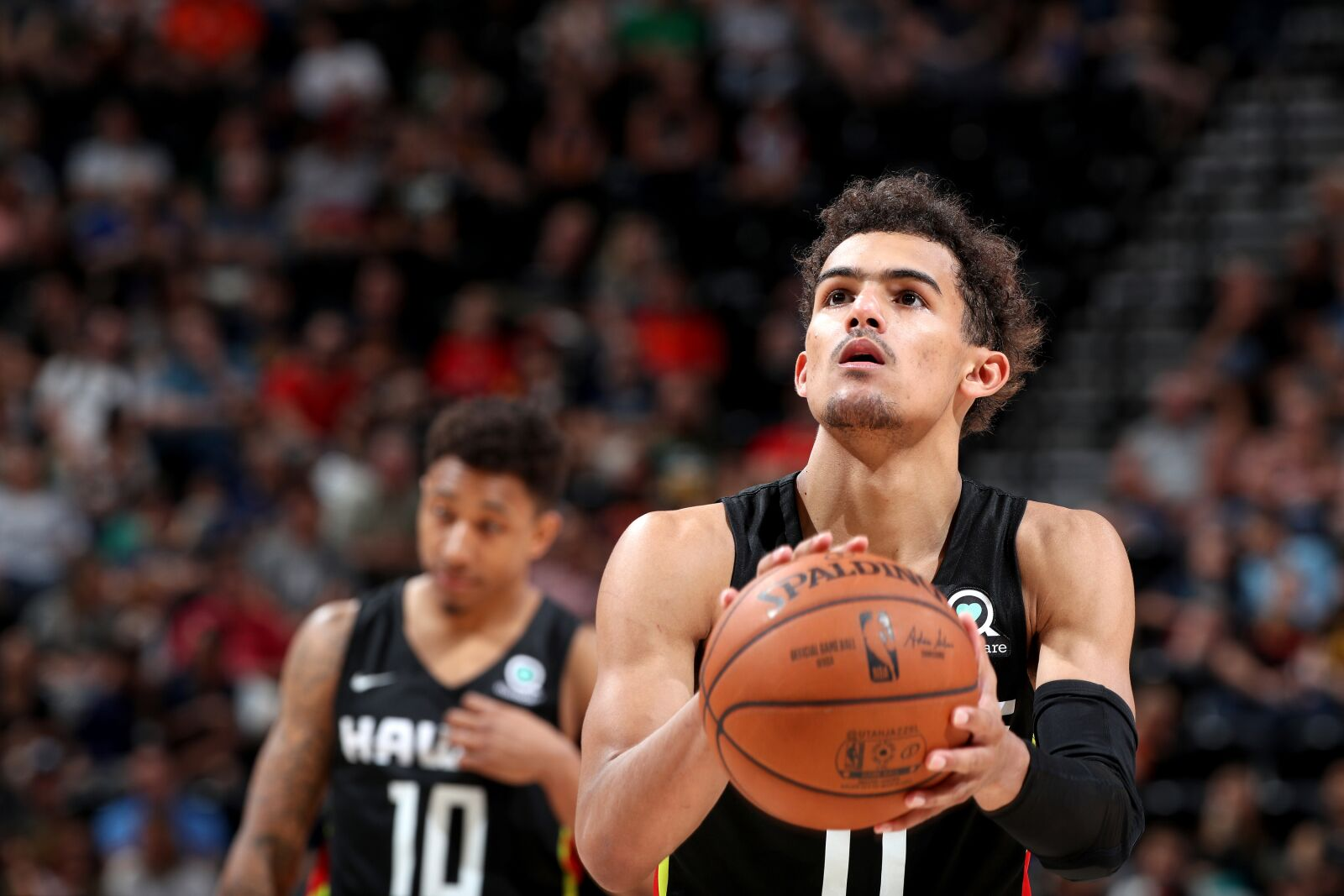 Image result for trae young 2018 hawks