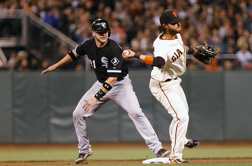 Chicago white sox were 3 1 vs san francisco giants in 2014 aug 12 2014 san francisco ca usa san francisco giants shortstop mightylinksfo
