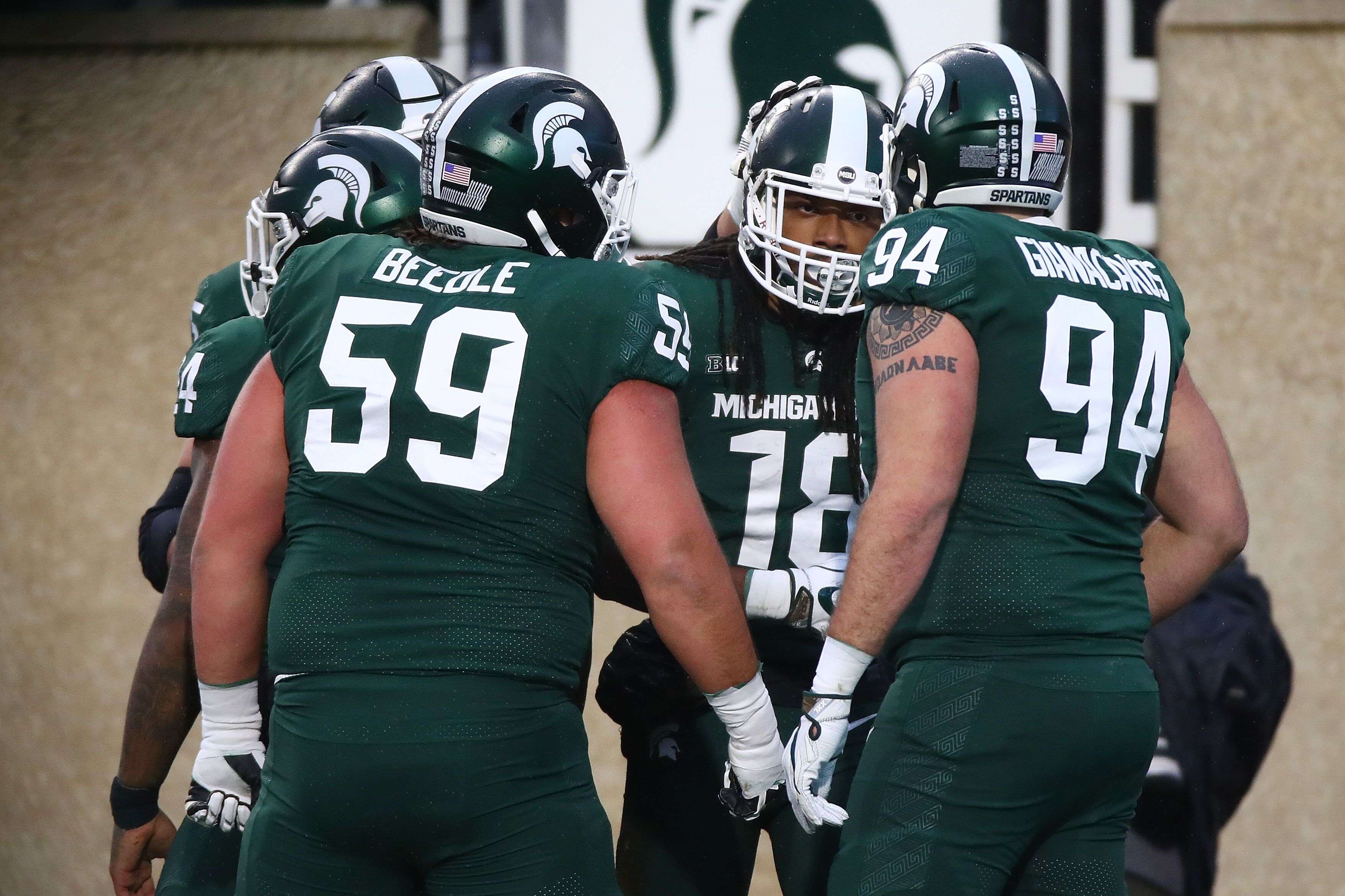 Michigan State Football Breaks Playoff Rankings Record With 12 Spot Jump