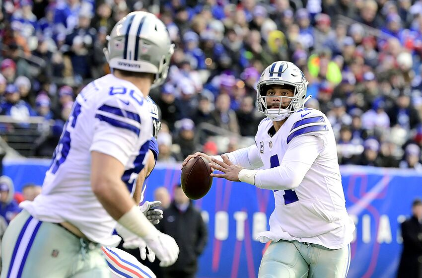 Dak Prescott  4 of the Dallas Cowboys (Photo by Steven Ryan Getty Images 0d8fb540a