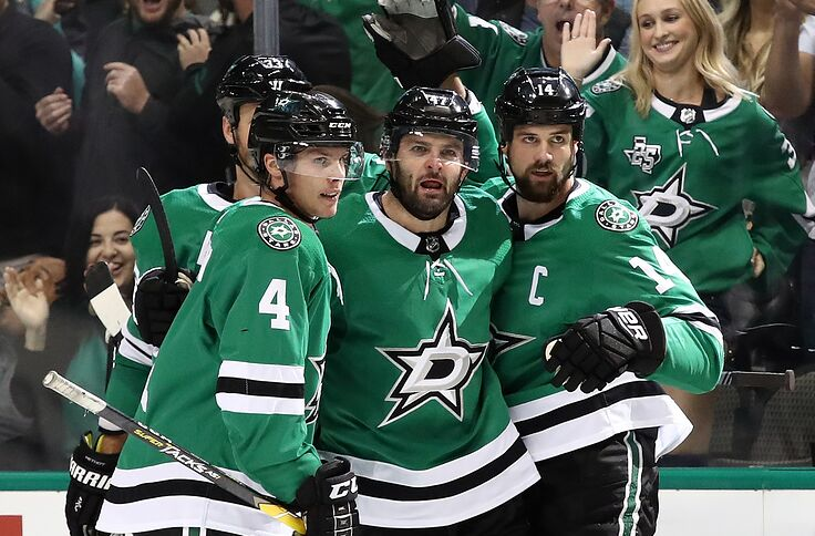 the best attitude 1a6c5 32cf2 Dallas Stars display mettle, even series against St. Louis