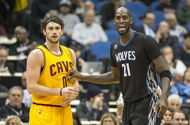low priced e7cf5 9efbc Kevin Love Deserves Credit for the New Timberwolves Roster