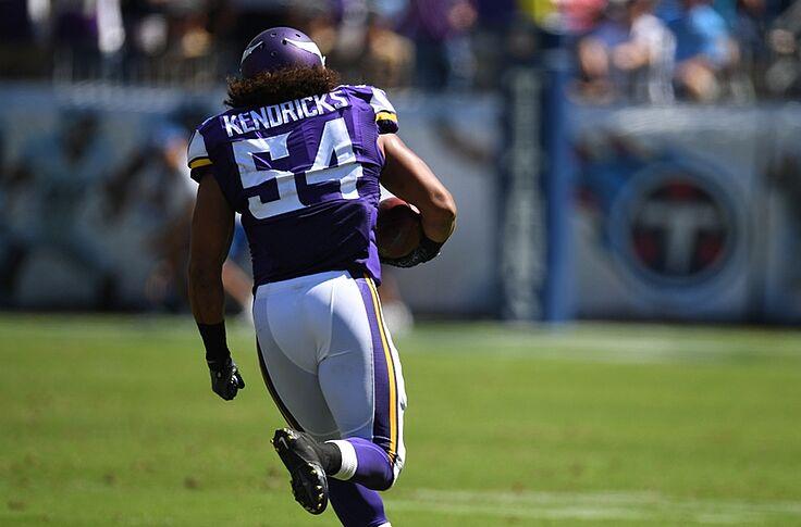online store 2b6b5 51cfa Minnesota Vikings: Kendricks Named DPOW, Color Rush Jerseys ...