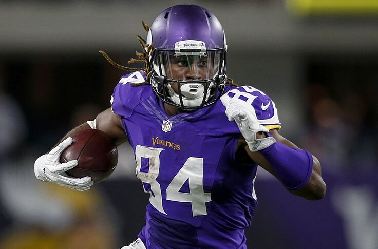 huge discount b1078 d5fb0 Minnesota Vikings: Cordarrelle Patterson Involved Early and ...