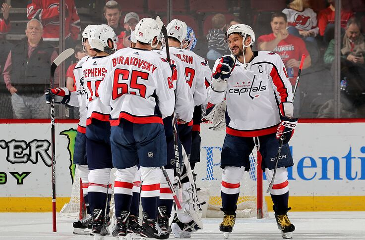 45226617875 Washington Capitals  Three Second Period Goals was the Difference ...