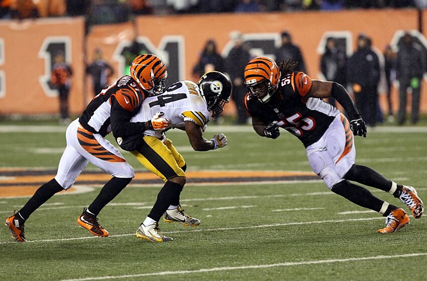 d2f78e47 Jan 9, 2016; Cincinnati, OH, USA; Cincinnati Bengals outside linebacker  Vontaze