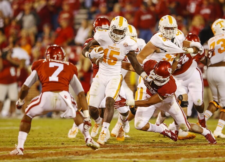 Ou Football Ranking The 5 Biggest Games On The 2015 Schedule