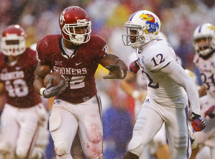 Ou Vs Kansas Sooners Have Not Lost To Jayhawks In 18 Years