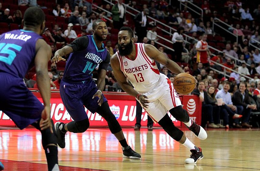 721fa625e06 Charlotte Hornets Come Up Short Against Harden and the Houston Rockets