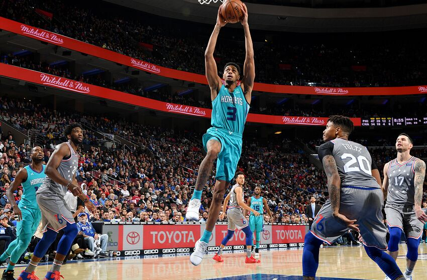 Charlotte Hornets Jeremy Lamb (Photo by Jesse D. GarrabrantNBAE via Getty  Images