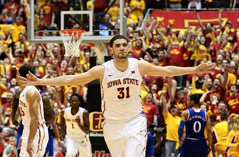 Iowa state jumps kansas in big 12 basketball power rankings jan 17 2015 ames ia usa iowa state cyclones forward georges publicscrutiny Images