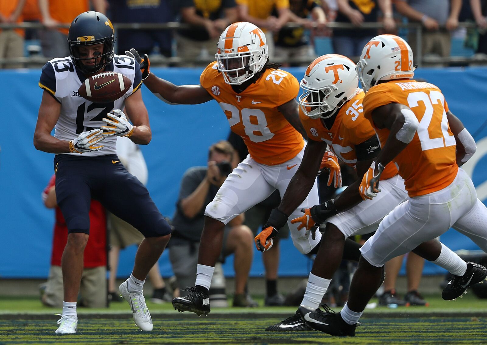 Tennessee Football Vols Lose Season Opener To West Virginia