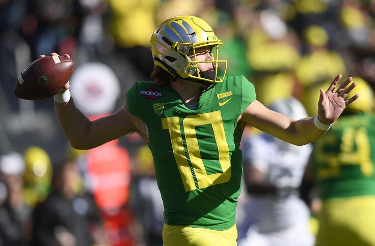 Top Rookie Quarterbacks 2020.Tennessee Titans The Titans Could Be Drafting Another Oregon Qb In 2020