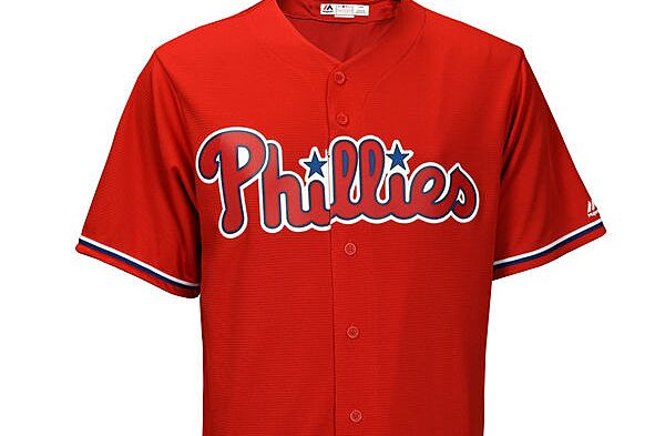 c8012476137 The Phillies are introducing new red jerseys to be worn during mid-week day  games