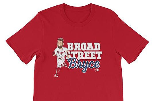 0282477e9b2 Philadelphia Phillies: Get your Bryce Harper gear now
