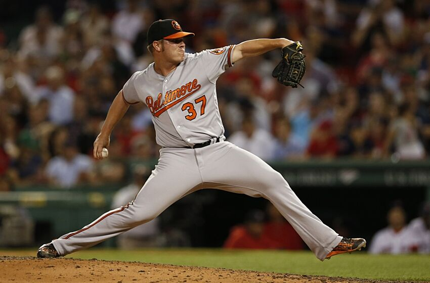 News Photo : Dylan Bundy of the Orioles delivers a pitch to.