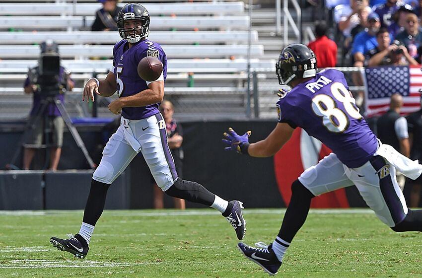 52286ec4 Sep 11, 2016; Baltimore, MD, USA; Baltimore Ravens quarterback Joe Flacco