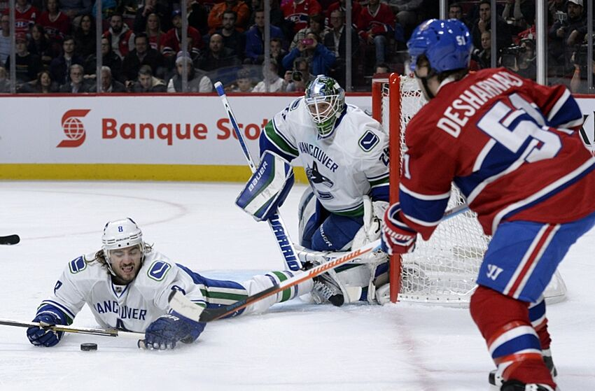 Vancouver Canucks at Montreal Canadiens  Preview 41431fb22