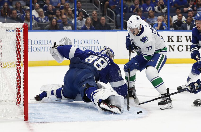 a91a24275d7b4 Vancouver Canucks gameday  Going for sweep vs. Tampa Bay Lightning
