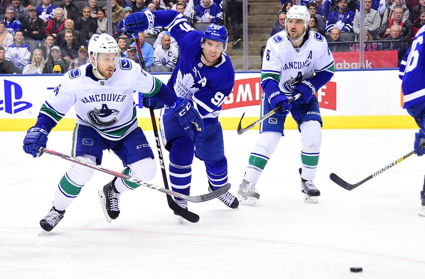 5dfae678167 Vancouver Canucks and Toronto Maple Leafs would be ideal trade partners