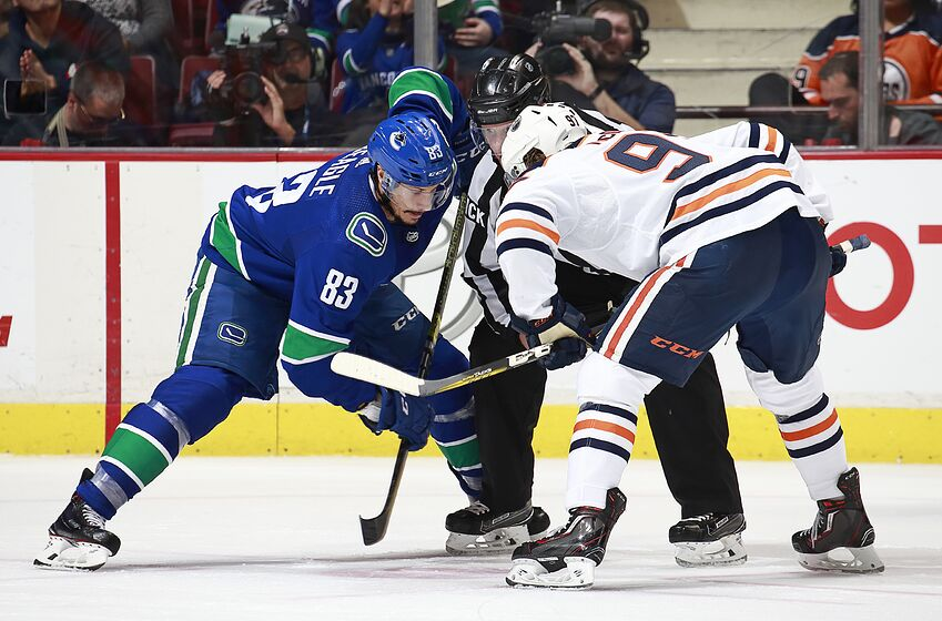 Vancouver Canucks gameday  A meeting with Connor McDavid s Oilers af6db16e9