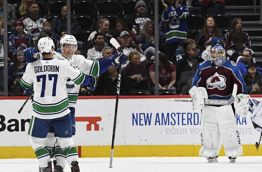 dbc19dd36e7 Vancouver Canucks  3 takeaways from 5-1 win over Colorado Avalanche