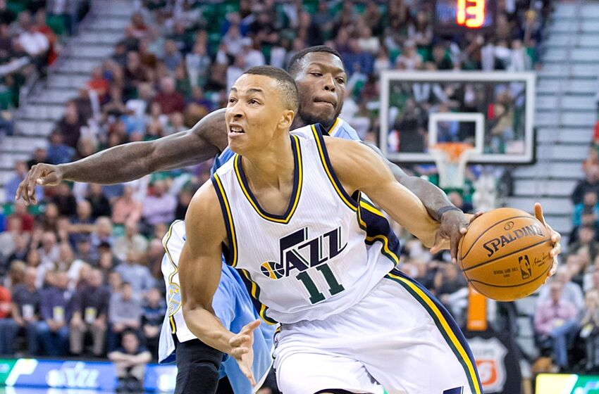 c016a5992ef8 Video  Utah Jazz PG Dante Exum Talks Yeezy Boosts