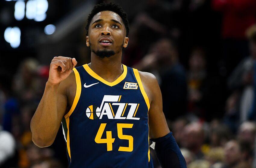 Donovan Mitchell, Utah Jazz. (Photo by Alex Goodlett/Getty Images)