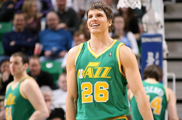 premium selection 02bb9 d8af7 Utah Jazz: Eight years later, Korver returns in trade for Burks